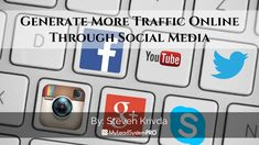 With all the ways to generate traffic online, there is one that is left behind like an old rag doll. Maybe that's a little extreme, haha. Increasing traffi