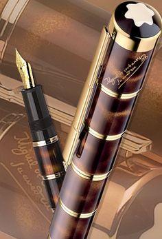 http://estilograficabcn.blogspot.com.es/  Miguel de Cervantes. Montblanc