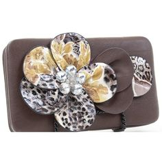 Designer Clothes, Shoes & Bags for Women Cute Wallets, 3d, Shoe Bag, Amazon, Flower, Metal, Frame, Polyvore, Accessories