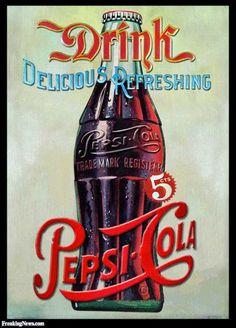 VINTAGE, EL GLAMOUR DE ANTAÑO: Publicidad Pepsi - Cola