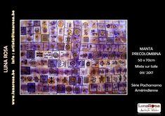 MANTA PRECOLOMBINA / Lenguaje en simbología ancestral. LunaRosa.be First Art, French Riviera, Art Studies, American Artists, Belgium, Art Gallery, Photo Wall, Blanket, Art Museum