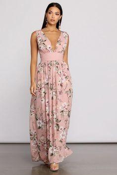Cute Maxi Dress, Maxi Dress With Sleeves, Floral Maxi Dress, Chiffon Dress, Beautiful Maxi Dresses, Lace Chiffon, Dress Robes, Pretty Dresses, Women's Fashion Dresses