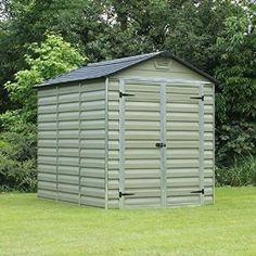 Garden Sheds 6 X 8 keter manor plastic shed 4' x 6' (nominal) | plastic sheds