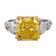 Harry Winston Yellow Diamond
