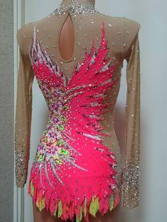 Gallery.ru / Фото #29 - 2015 - Galla39 Sport Gymnastics, Rhythmic Gymnastics Leotards, Dance Outfits, Dance Dresses, Figure Skating Dresses, Ballroom Dress, Dance Costumes, Pink Purple, Formal Dresses