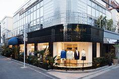 メゾンキツネ、日本初の路面店を南青山に2店舗同時オープン - ひと足早く注目の店内をご紹介 | ニュース - ファッションプレス