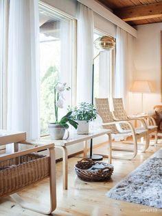 Spirit of Alvar Aalto Living Room Designs, Living Room Decor, Home Interior Design, Interior Decorating, Stairs And Doors, Alvar Aalto, Living Styles, Modern House Design, Interior Inspiration