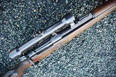 Deactivated Mauser Sniper Rifle - the infamous fitted with various scope configerations - Check this page for Deactivated Kar 98 Mauser Sniper Rifle! K98, Old West, Weapons, Hunting, Shotguns, Bullets, Rifles, Wwii, People