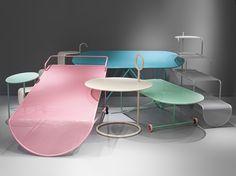 Mobiliario y diseño de tienda para Camper