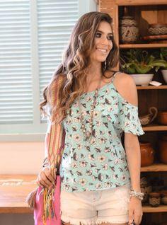 blusa ombro vazado como usar
