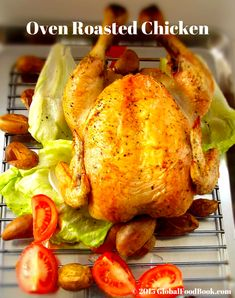 COOL Oven Roasted Whole Chicken