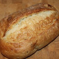 Oven Roasted Garlic Artisan Bread Oven roasted garlic artisan bread – the perfect way to add that sweet and savory flavor to your standard artisan bread recipe. Oven Roast, Bread Oven, Skillet Bread, Artisan Bread Recipes, Bread Machine Recipes, Bread Machine Garlic Bread Recipe, One Loaf Bread Recipe, Yeast Bread Recipes, Recipes
