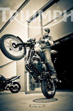 #triumph #motorcycles #motos | caferacerpasion.com