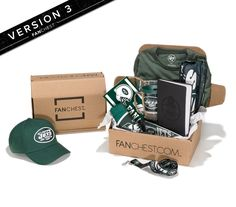 New York Jets Gift Box | NY Jets Fan Gear | FANCHEST • FANCHEST