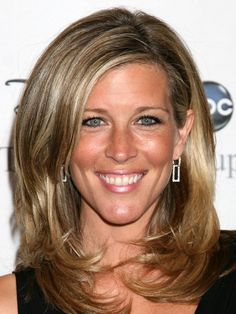 Laura Wright…Thick, beautiful blond hair.