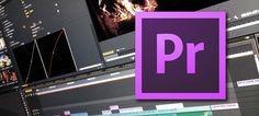 تعلم Adobe premiere CC الإحترافي في المونتاج من الصفر