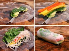 Salad Rolls | Gorging George