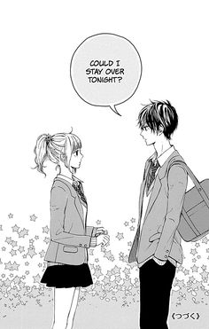 Hoshi To Kuzu - Don't Worry, Be Happy Chapter 8 - Manganelo Anime Love Couple, Cute Anime Couples, Manga Love, Manga To Read, Manga Art, Manga Anime, Romantic Manga, Manga Pages, Hoshi