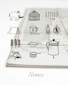 Mammoth. Outdoor apparel. | Katt Frank design