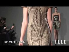 3D Printing and Iris van Herpen's Biopiracy Fashion Show in Paris   i.materialise 3D Printing Service Blog