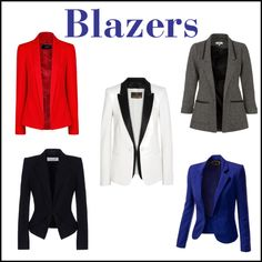 """Style Essentials: Blazers"" by imajumaican on Polyvore"