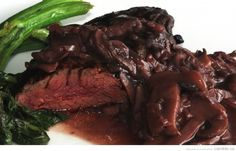 Steak, Barbecue, Food, Mushroom Gravy, Butcher Shop, Red Wine, Meat, Cooking Recipes, Cooking Food