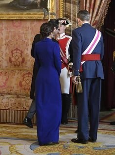 6 January 2020 - King Felipe and Queen Letizia attend Pascua Militar at Madrid Royal Palace Princess Stephanie, Princess Estelle, Princess Charlene, Princess Madeleine, Crown Princess Victoria, Crown Princess Mary, Queen Maxima, Queen Letizia, At Madrid