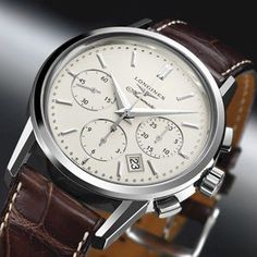 Longines Column Wheel Heritage Chronograph #luxurywatch #Longines-swiss Longines Swiss Watchmakers watches #horlogerie @calibrelondon