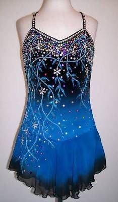 Ice Figure skating dress/Twirling outfit/Dance Costume Made to Fit