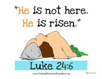 Easter Bible Verse Printables