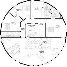 Deltec Homes- Floorplan Gallery | Round Floorplans | Custom Floorplans