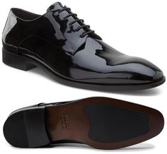 Pantofi barbati ECCO Figari lacuiti negru