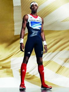 Great Britain athletes kit for London 2012 Olympics by Stella McCartney