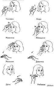 Russian sign language. Visit www.russiancentre.co.uk to