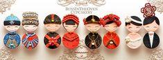 Cupcakes do casamento Culturais