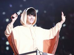 Cute Baekhyun at the Exo'Luxion dot in Seoul Day-