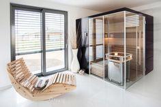 Piec do sauny Elegance. Indoor Sauna, Sauna Design, Home Spa, Comfort Zone, Own Home, Good Things, Interior Design, Elegant, Wood