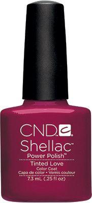 Cnd Shellac UV Tinted Love