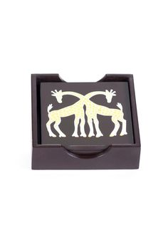 Giraffe Coasters, $88 | Update Interiors