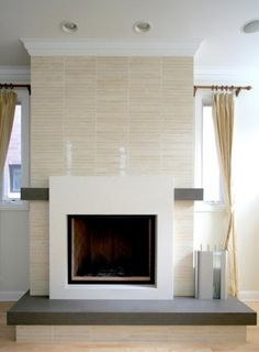 by Habitar DesignChicago, IL, US 60610 · 60 photos Contemporary Fireplace http://www.habitardesign.com
