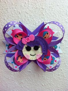 LaLa Loopy Bow by BloomingBows1221 on Etsy, $8.00
