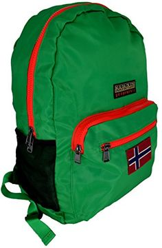 Zaino Portatile Uomo Donna Napapijri Switch Backpack Foldable Summer Green N8R01 - http://herrentaschenkaufen.de/napapijri/zaino-portatile-uomo-donna-napapijri-switch