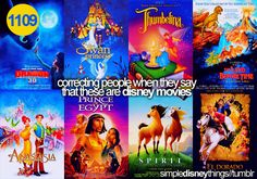 simpledisneythings:    This one goes out to all my history teachers who ever referred to The Prince ofEgyptor The Road to El Dorado as Disney. #smh