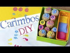 Coleção de carimbos, faça a sua! :: DIY - YouTube