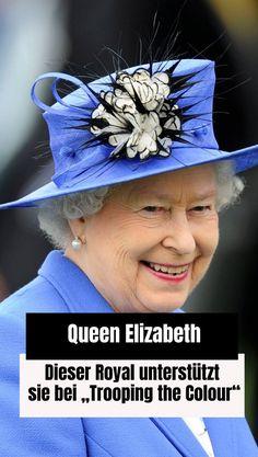 """Queen Elizabeth feiert bald """"Trooping the Colour"""". Bei der Geburtstagsparade bekommt sie Unterstützung von ihrem Cousin. Prinz Philip, Prinz Charles, Prinz William, Buckingham Palace, Joe Biden, Cousins, Adele, Trooping The Colour, Queen Elizabeth"""