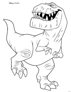 Dinosaur | Color pages | Pinterest | Kids colouring, Coloring books ...