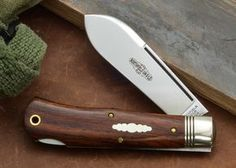 #72 LB Northfield UN-X-LD Cody Scout Pocket Knife in Cocobolo Wood
