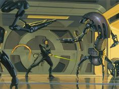 Images from The Art of Ralph McQuarrie