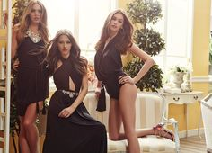 BSB Fashion's new spring summer 2014 collection is available now. Bridesmaid Dresses, Prom Dresses, Formal Dresses, Wedding Dresses, Total Black, Fashion Moda, Summer 2014, Spring Summer Fashion, Collection