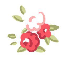 Flower Drop Earrings Burst Cute Floral Studs Dainty  cakepins.com
